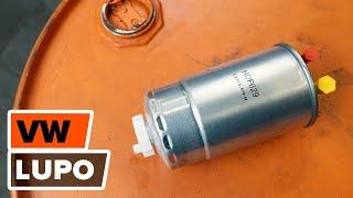 Como mudar Kit de acessórios, pastilhas de travão VW LUPO (6X1, 6E1) - vídeo grátis online