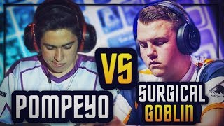 PRO vs PRO :: POMPEYO vs SURGICAL GOBLIN :: BEST OF 5 SHOWDOWN