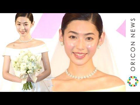 白石聖、ウエディングドレス姿でバージンロード ゼクシィ12代目CMガールに「夢なんじゃないか」 『ゼクシィ』新CM発表会