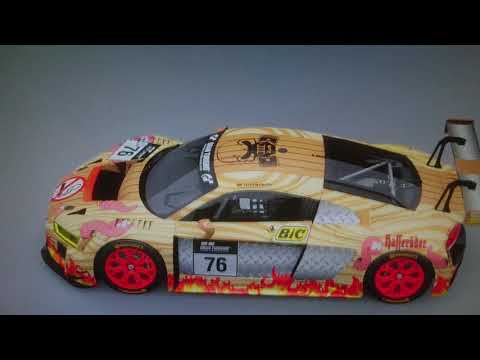 Holz Alu Audi R8