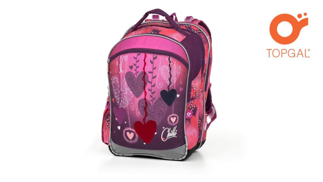 a93515a1899 animace - školní batoh TOPGAL COCO 17002 - YouTube