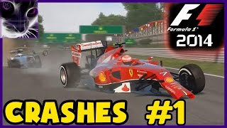 F1 2014 - Crashes & Accidents #1