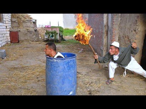 الحاج مبروك /يشعل النارفي جابر بسبب ما فعله في تفاحه/ شئ لايصدق /هتضحك من قلبك 😂😂