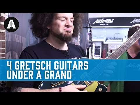 Four Great Gretsch Guitars Under a Grand!