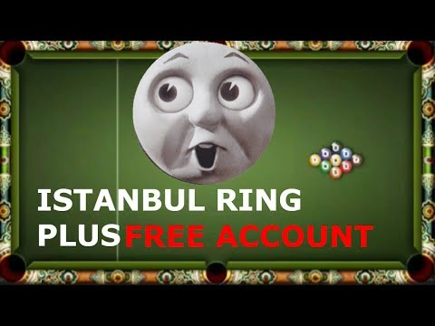 ISTANBUL RING + FREE ACCOUNT ***8 BALL POOL***