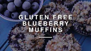 Gluten-Free Blueberry Buckwheat Muffins | Izy Hossack | Wild Dish