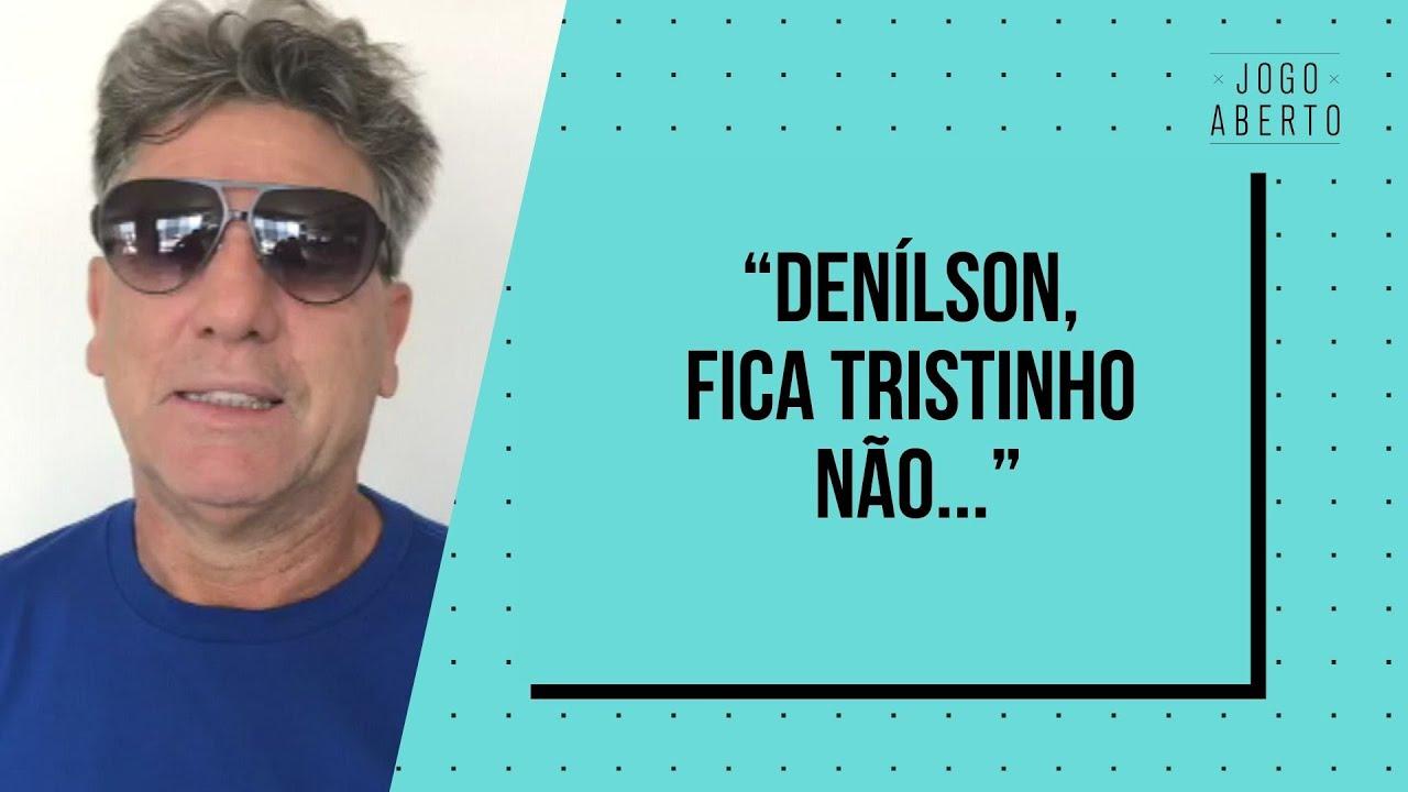 APÓS ATROPELAR O SÃO PAULO, RENATO GAÚCHO MANDA RECADO PARA DENÍLSON   JOGO ABERTO