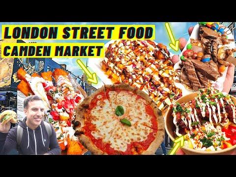 London STREET FOOD | CAMDEN Market