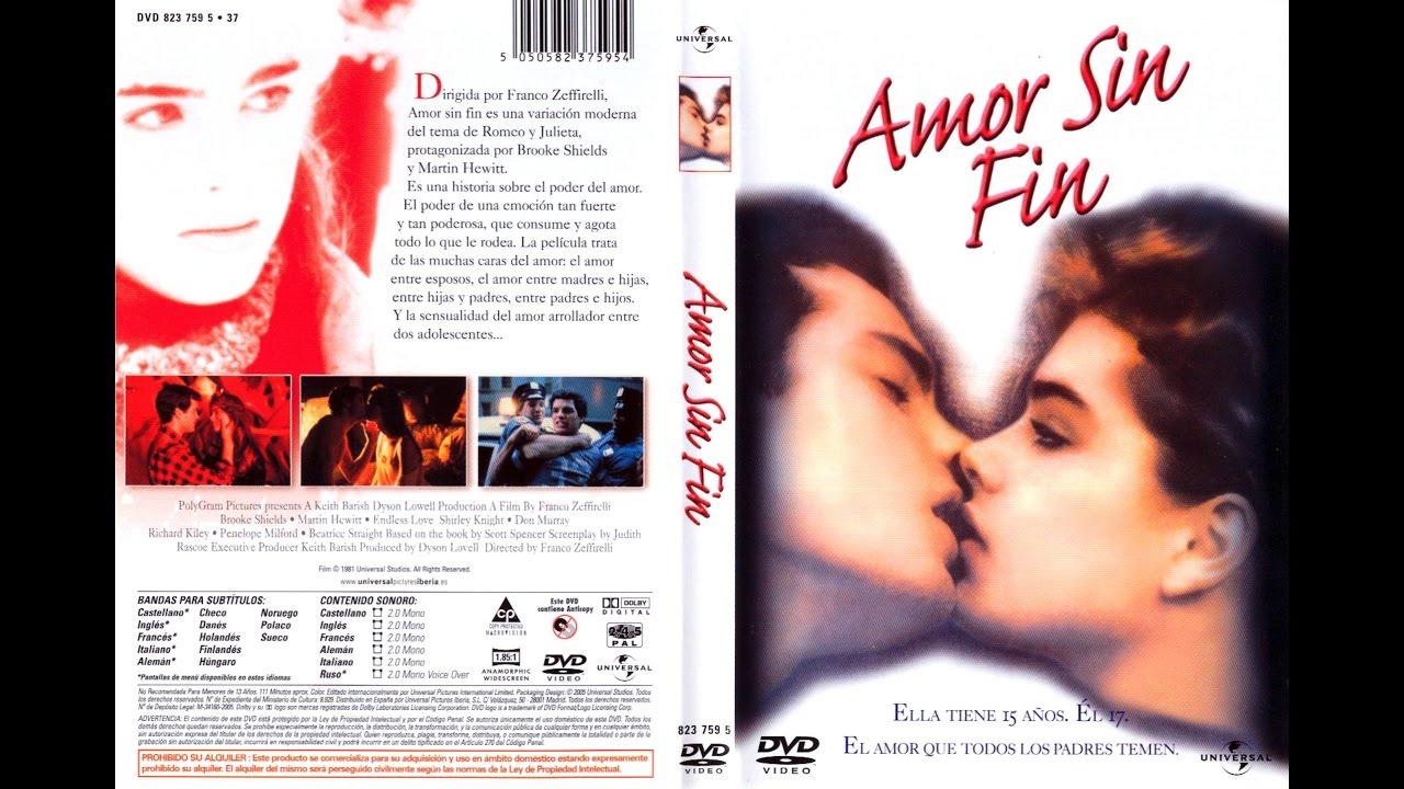 Amor Sin Fin 1981 Película Completa En Español Latino Youtube