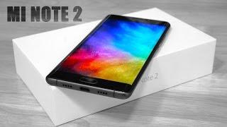 Xiaomi Mi Note 2 - Unboxing & Hands On