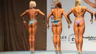 Бодифитнес - женщины 168 см. Первое сравнение.