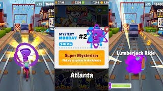"Subway Surfers: Atlanta (Mystery ""Monday"" Super Mysterizer!) Gameplay #2 On IOS"