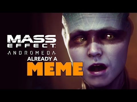 Mass Effect Andromeda ALREADY A MEME - The Know Game News