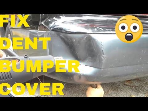 Fixing A Dent In A Plastic Bumper Cover