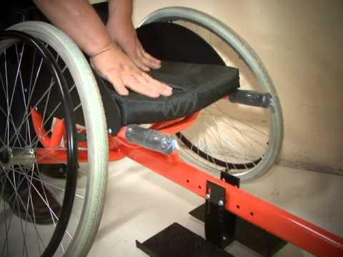 Silla ruedas youtube for Ruedas de goma para sillas