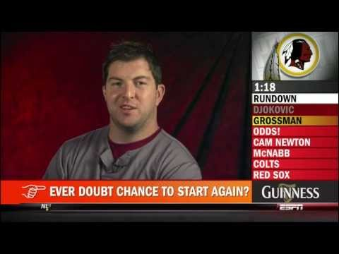 PTI : Five Good Minutes With Rex Grossman (9-13-2011)