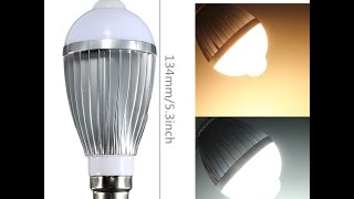 PIR Infrared Motion Sensor Detection LED Light Bulb Lamp