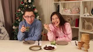 Молодежь пробует национальную якутскую кухню!