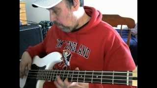 Bass Cover Little Suzi Tesla in HD.