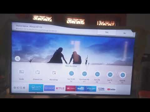 How to make my samsung smart tv bluetooth