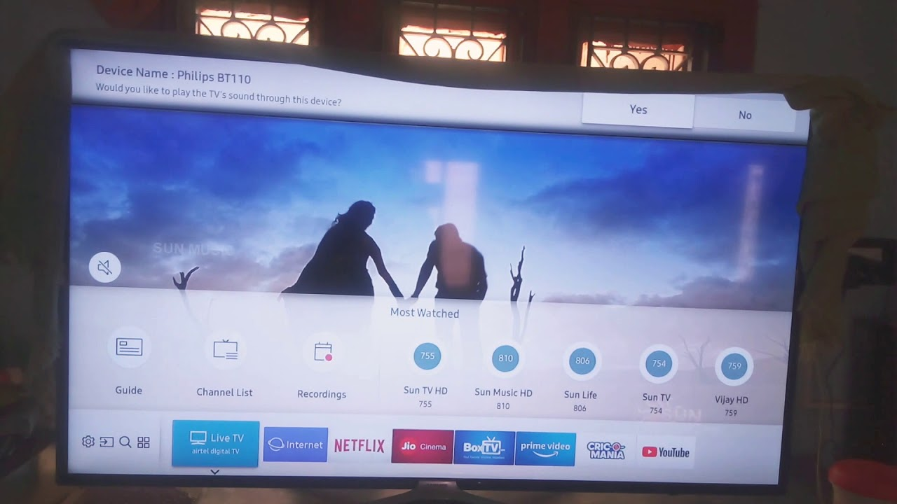 how to connect bluetooth speaker with samsung smart tv
