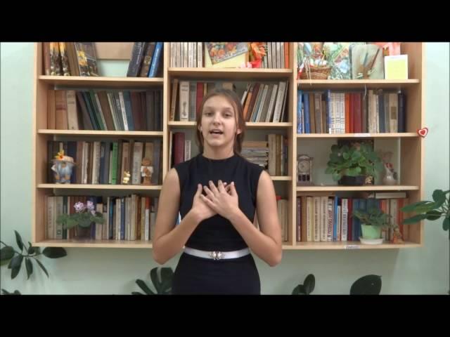 Изображение предпросмотра прочтения – ВикторияГриценко читает произведение «Умершим мир» В.Я.Брюсова