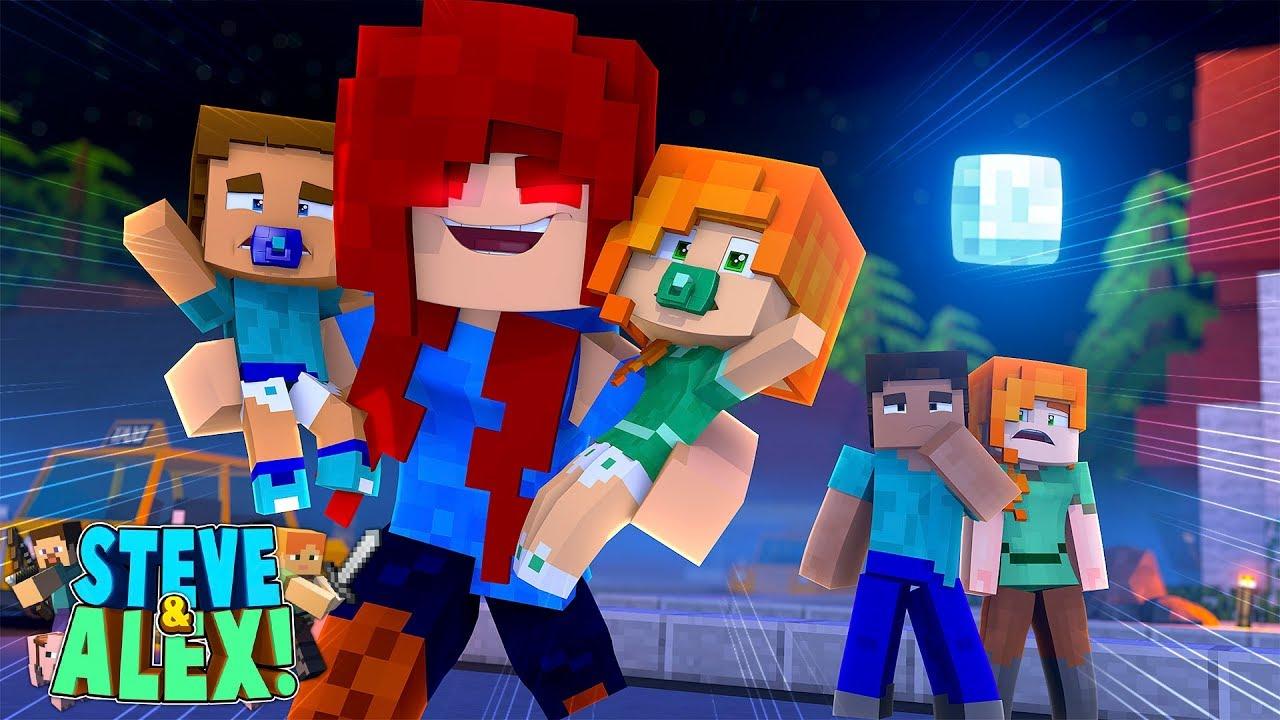 Minecraft LIFE Of ALEX Amp STEVE CRAZY EX GIRLFRIEND
