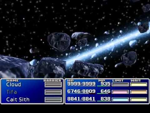 """Final fantasy VII - Sephiroth Summons """"Super Nova"""""""