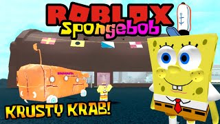 SPONGEBOB JADI BOSS KRUSTY KRAB! 😎 - Roblox Spongebob Indonesia