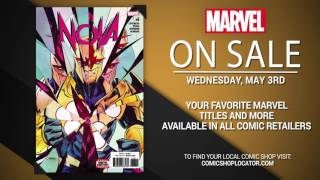 Marvel NOW! Titles for May 3rd