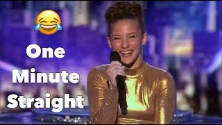 Sofie Dossi Laughing For One Minute Straight