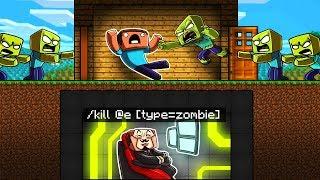 Minecraft - ZOMBIE BUNKER BASE DEFENSE! (Noob vs Hacker)