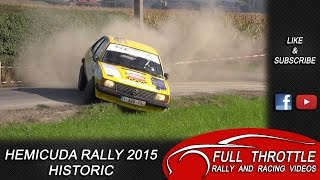 Hemicuda Rally 2015 Historic + Mistakes