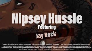 [FREE] Jay Rock Nipsey Hussle Type Beat 2019   Rap beats Instrumental No Tags