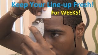 How to Keep Your Line-up Fresh after a Hair Cut! thumbnail
