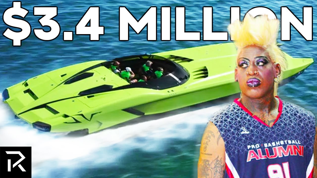 How Dennis Rodman Blew All His Money