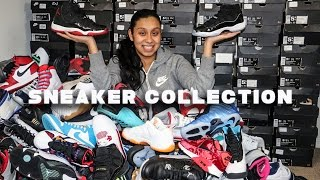 INSANE FEMALE SNEAKER COLLECTION!!! MUST WATCH