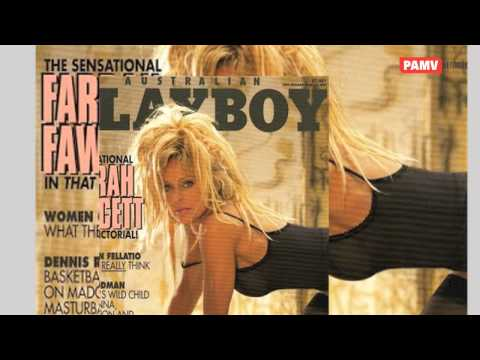 Farrah fawcett SIZZLING HOT LOOK ON playboy cover