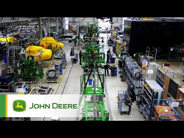 John Deere Fabrik Horst 2017