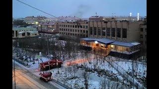 В школе №3 города Лабытнанги загорелся один из кабинетов, уроки отменены