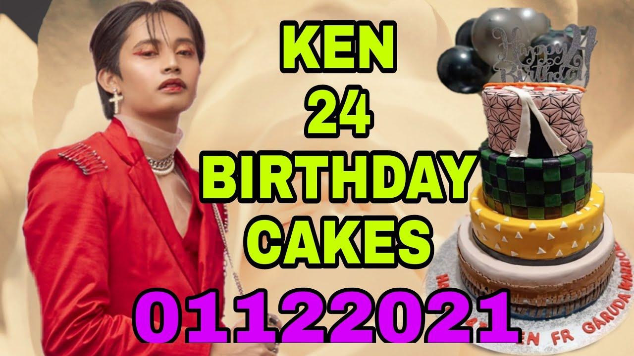 SB19 KEN 24 BIRTHDAY CAKES AND THANK YOU MESSAGE TO A'TIN/FAMILY (01122021)