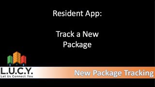 Resident - Checking New Package Notification