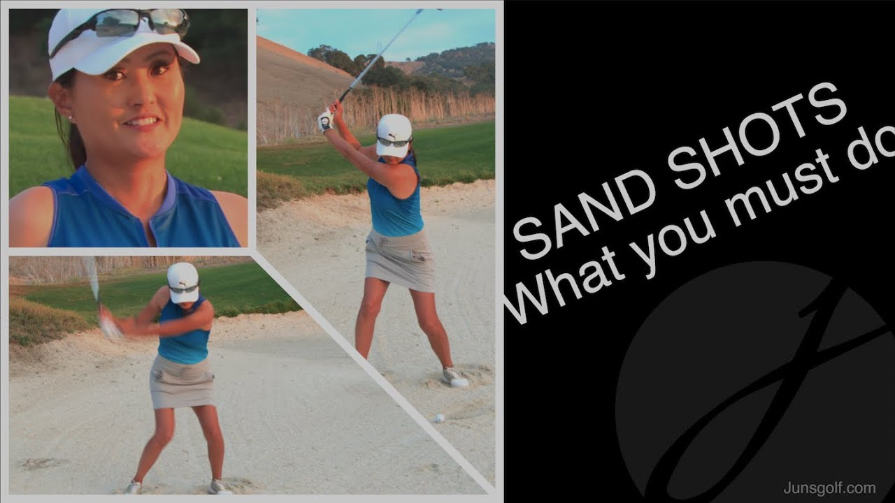 SAND SHOTS:  What You Must Do