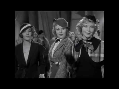 42nd Street, 1933    Ginger Rogers  ,  Ru Keeler  Pre ~code   Legs Scene