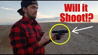 FOUND HANDGUN IN DESERT! (Police Helicopter Called)