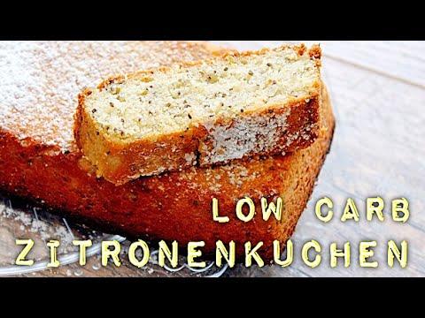 Low Carb Rezept Saftiger Zitronenkuchen Mit Chiasamen