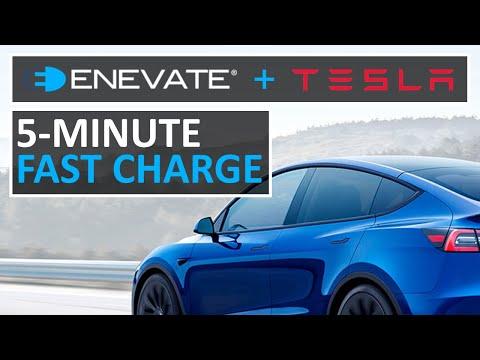 Tesla Should Acquire ENEVATE Battery Startup (ULTRA FAST EV CHARGING)