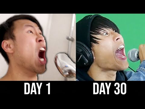 I spent 30 days trying to learn how to scream