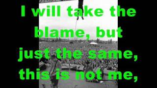 pearl jam the end lyrics