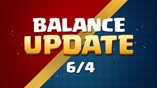 Clash Royale: Balance Update Live! (6/4)
